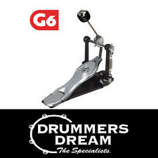 Gibraltar 6711S Single Bass Drum Pedal - New G6 Model Dual Chain BRAND NEW