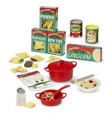 MELISSA AND DOUG PREPARE & SERVE PASTA PLAY FOOD SET 58 PIECES NEW & SEALED