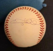 GARY SHEFFIELD SIGNED OFFICIAL MLB BASEBALL NY YANKEES 500 HRS DODGERS COA+PROOF