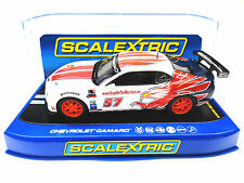 "Scalextric ""Stevenson MS"" Chevrolet Camaro GT-R DPR 1/32 Scale Slot Car C3289"