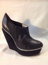 Senso Diffusion Black Ankle Leather Boots Size 37