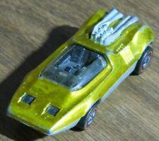 Hot Wheels Red Line 1969 Metallic Gold Yellow Peeping Bomb
