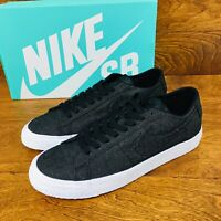 *NEW* Nike SB Air Zoom (Men Size 9) Black Skate Sneakers Blazer Low CNVS Decon