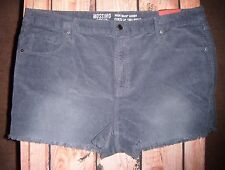 "MOSSIMO ""HIGH-RISE SHORT"" BLUE SHORTS WOMENS SIZE 18 NWT"