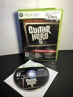 Guitar Hero 5 *No Manual* (Microsoft Xbox 360, 2009)