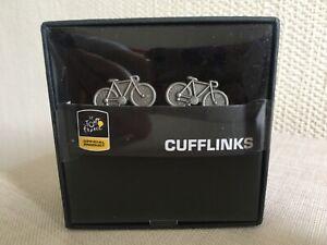 Mens Cufflinks - Tour de France Theme