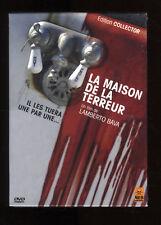 LA CASA DI la TERRORE Lamberto BAVA Edizione Collezionista DVD ZONA 2 NUOVA
