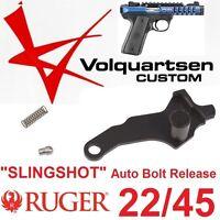 NEW VOLQUARTSEN BLACK 22/45 AUTO Bolt Release SLINGSHOT Ruger MK III Mark 3