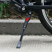 Heavy Duty Adjustable Mountain Bike Cycle Bicycle Prop Side Rear Kick Stand US