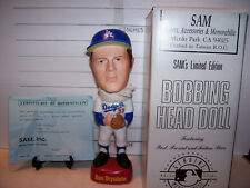 1996 SAM DON DRYSDALE BOBBLEHEAD LOS ANGELES DODGERS MINT & VERY RARE
