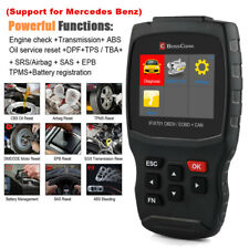OBD2 Scanner for Mercedes Benz Car SAS Oil ABS Airbag TPA EPB AT Diagnostic Tool