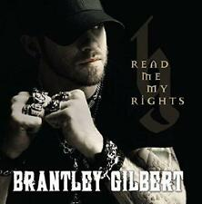 Brantley Gilbert - Read Me My Rights [Copy] (NEW CD)