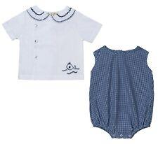 NEW 'Aurora Royal' Baby Boy Romper and T-shirt Set/play set