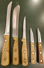 Chicago Cutlery Knife Set 100S 47S 62S 66S Full Tang Walnut Handles