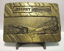 Dresser Jeffery Universal Cutting Machine Colmole Mining Equipment Belt Buckle