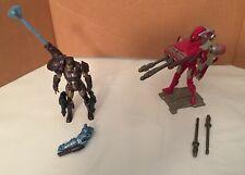 IronMan Action Figure Lot Concept Juggernaut Upgrade & Stealth Tech Assemblers