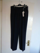 Womens Green lamb Trousers Size 14 new navy  NEW WITH TAGS MEASUREMENT BELOW £43