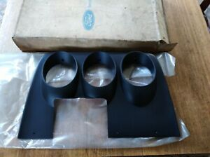Ford Cortina TC Mk3 Dash Instrument Fascia Black Genuine N.O.S. GXL XLE GT