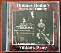Thomas Bodin's Swedish Family – Vintage Prog CD – Flower Kings – CD001 – Mint