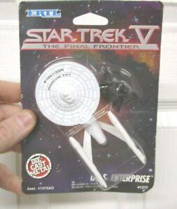 Star Trek USS ENTERPRISE Die-Cast Metal Ship SEALED 1989 Ertl