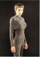 Star Trek Enterprise Tv Series, T'Pol Standing Postcard #4 German 2002 Unused