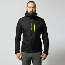 Montane Mens Minimus Waterproof Outdoor Jacket Top Black Sports Outdoors