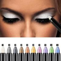 Womens Pro Highlighter Eyeshadow Pencil Cosmetic Glitter Eye Shadow Eyeliner Pen