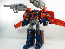 New listing Hasbro Transformers Cybertron Leader Class Optimus Prime with Planet Key (2005)