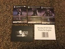 Dissidia Final Fantasy Nt Final Fantasy Trading Card Game Cards Sealed