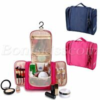 Travel Portable Makeup Toiletry Wash Case Organizer Pouch Storage Hanging Bag