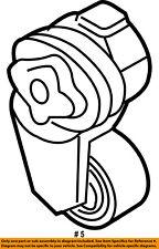 CHRYSLER OEM-Serpentine Fan Belt Tensioner 5086958AA