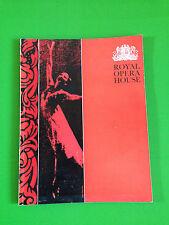 Royal Opera House Covent Garden Gala Programme 1965