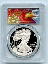 2010 W $1 Proof American Silver Eagle 1oz PCGS PR70DCAM Thomas Cleveland Eagle
