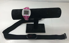 Polar FT4 Heart Rate Monitor Pink Watch & H1 Chest Sensor