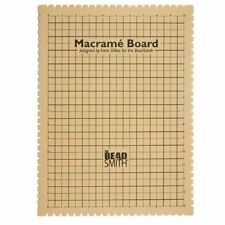 Beadaholique Macrame Board for Braiding 14 by 10-inch