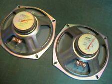 "pair SANYO 6"" SPEAKERS 8ohm 12w MIJ"
