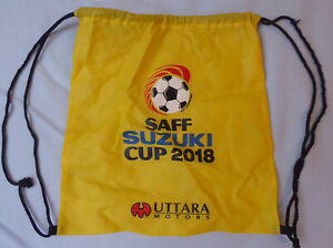 Sammler GYM BAG Bag Collectors 2018 SAFF Cup Bangladesh South Asia