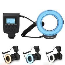 Photography 48 LED Flash Light Lens Adapter Ring Kit For Canon Nikon Fuji Camera