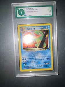 Pokemon Politoed 8/75 NM Neo Discovery GRAAD 7 Ita PSA BGS -no Charizard Shining