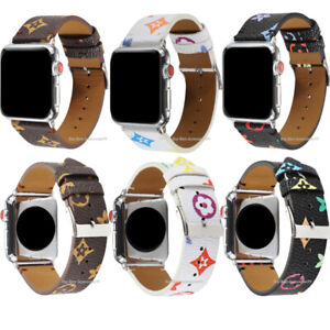 For Apple Watch Leather Band iWatch Strap for Series 6,5,4,3,2,1 38/40mm 42/44mm