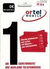 Ortel Mobile mit 0? Vorwahl +49 DE