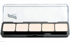 Ultra-Lites HD Glamour Creme Foundation Palette Graftobian 5 Shades New Makeup