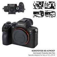 Anti-Scratch Camera Skin Protector Film Cover fr Sony A7 III A7R III A7RIII A7M3