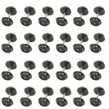 HP0387 24 PCS 36'' Metal Wheels for Model Train 1:87 HO Scale New AC Wheel set