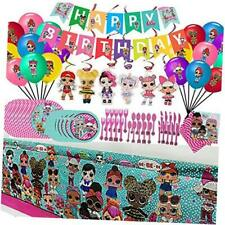 Dream Baby L.O.L. Birthday Party Supplies Set, For Girls LOL Theme Party