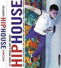 Various Hip House CASSETTE Double ALBUM Big Beat, Electro, Hip Hop, 40 tracks