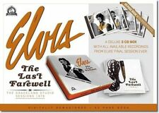 Elvis Presley The Last Farewell 5 CD /Book - LP Size Boxset - LAST ONE!