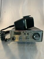 Vintage 70s COBRA 78X Citizens Band 40 Channel CB Radio W/ Mic - Untested