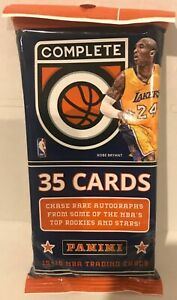 2015-16 Panini Complete NBA Basketball 35-Card Fat Pack New & Sealed (Booker RC)