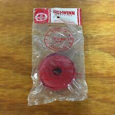 SCHWINN APPROVED HANDLE BAR TAPE SOLID RED FIT SCHWINN ROAD BIKES & OTHERS NOS